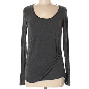 Kit and ace draped front top